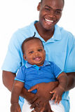 African father son Stock Image