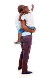 African father son Stock Photo