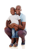 African father son Royalty Free Stock Photography