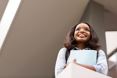 African female college student Stock Photos
