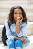 African female college student Stock Photography