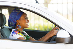African female driver Stock Photos
