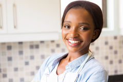 African female housekeeper Stock Images