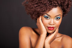 African female model Royalty Free Stock Image
