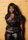African female singer Stock Image