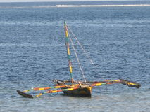African Fishing Boat stock images
