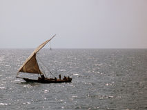 African Fishing Dhow Stock Photos