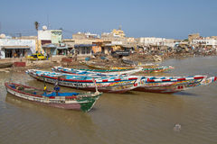 African fishing vessel Royalty Free Stock Photo