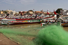 African fishing vessel Royalty Free Stock Images