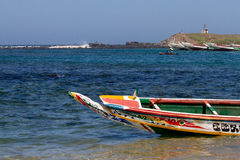African fishing vessel Royalty Free Stock Photos