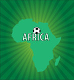African football Stock Photography
