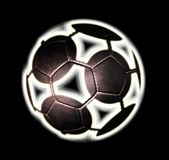 African football black Royalty Free Stock Images