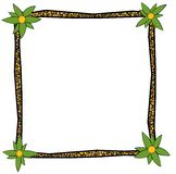 African frame Royalty Free Stock Image