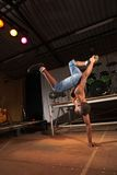 African freestyle hip-hop dancer Royalty Free Stock Images
