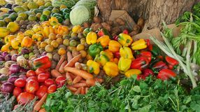 Free African Fruits Stand Royalty Free Stock Photography - 74898037