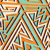 African geometric seamless pattern. Vector eps 10 Stock Photo