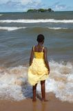 African girl Royalty Free Stock Image