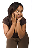 African girl Royalty Free Stock Photography