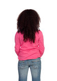 African Girl back Stock Photo