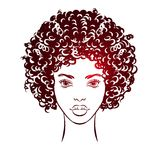 African girl face Royalty Free Stock Photo