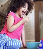 African Girl Kids Play Cheerful Concept royalty free stock images