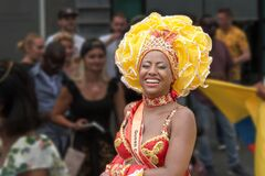 Free African Girl Laughing At The Rotterdam Festival 2019 Stock Photos - 200277353