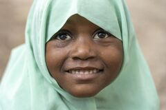 Free African Girl Near Local School After Class, Zanzibar, Tanzania, Africa Stock Photos - 179937303