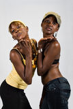 African girls couple Stock Image