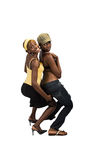 African girls couple Stock Photography