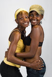 African girls couple Royalty Free Stock Image