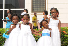AFRICAN GIRLS OF HONOURS Stock Photo