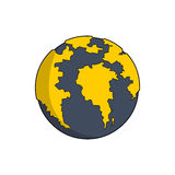 African globe Stock Photography