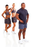African gym instructor Stock Image