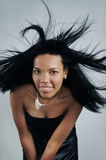 African hair beauty stock photography