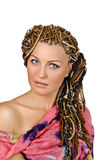 African hairdo Stock Photo