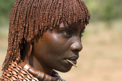 African Hamar Woman Royalty Free Stock Image