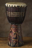 African Hand Drum Stock Image