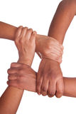 African hands isolated Stock Image