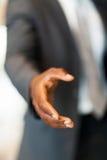 African handshake gesture Stock Photography