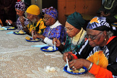 African Hebrew Israelites of Jerusalem Royalty Free Stock Photo
