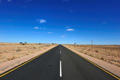 African Highway (Namibia) Royalty Free Stock Photography
