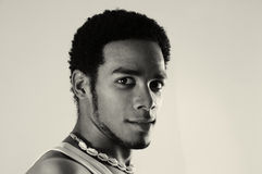 African hispanic man Stock Image