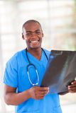 African hospital worker Stock Images