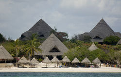 African Hotel Royalty Free Stock Images