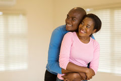 African husband and wife Royalty Free Stock Photo