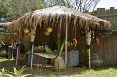 African Hut Royalty Free Stock Photos