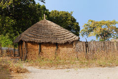 African hut Royalty Free Stock Photography