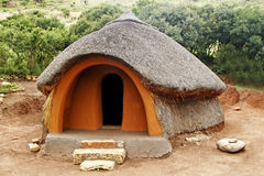 African Hut Royalty Free Stock Photos