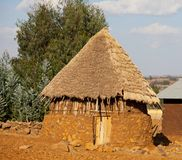 African hut Stock Image