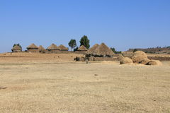 African huts Royalty Free Stock Photography
